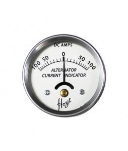 Hoyt 100 Amp Alternator Current Indicator DC Ammeter