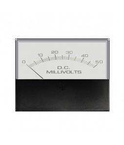 3145 DC Analog Meter - Front View
