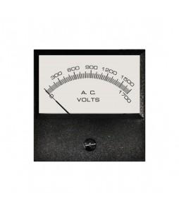 4026 AC Analog Panel Meter - Front View