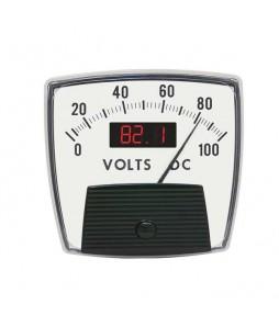 5035 Combo DC Analog and Digital Panel Meter