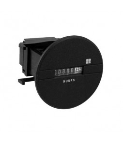 731 Series - Quartz DC Hour Meter, Round