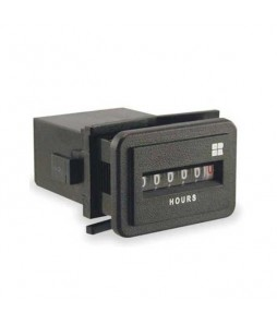 Flush Rectangular Hour Meter 732-0002