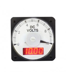 HLS-110DI (TWO-VUE) AC DC Analog/Digital Combo Panel Meter
