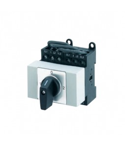 Salzer Changeover On-Off Switches - Base Mount , Snap On, DIN Rail