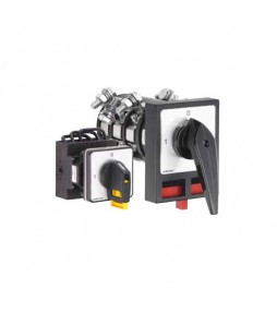 Salzer Changeover Switches - Front Mount - Four Hole Mounting