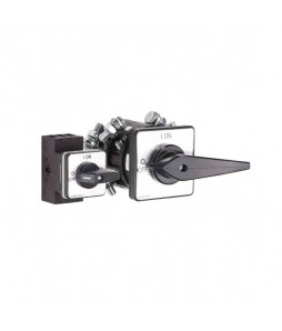 Salzer Disconnect On-Off Switches - Front Mount - Four Hole Mounting
