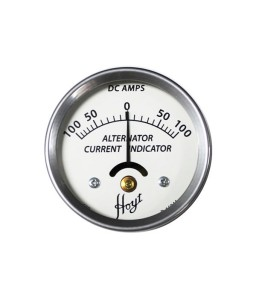 Hoyt 100 Amp Alternator Current Indicator DC Ammeter