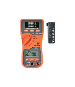 187MST LAN Cable Tester & Digital Multimeter
