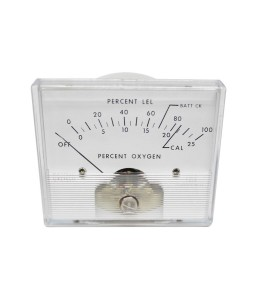 2025 DC Analog Panel Meter - Front View