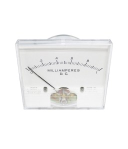 2035 DC Analog Panel Meter - Front View