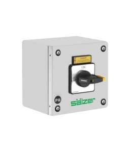 Salzer Main Switches - Coated Steel Enclosure