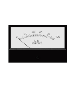 2146 AC Analog Panel Meter - Front View