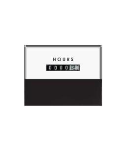 312-HRM Elapsed Time Panel Meter
