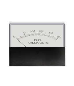 3145 DC Analog Meter - Front View