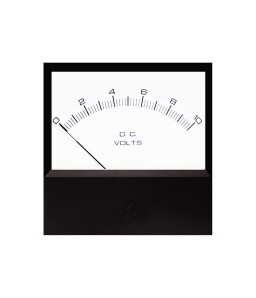 4035 DC Analog Panel Meter  - Front View