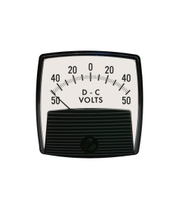 5015 DC Analog Panel Meter - Front View