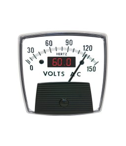 5036 Combo AC Analog and Digital Panel Meter