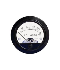 552-P AC Analog Panel Meter - Front Side