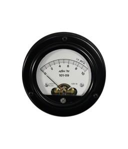6351 DC Analog Panel Meter - Front View