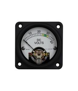 635MM AC DC Sealed Analog Meter - Front View