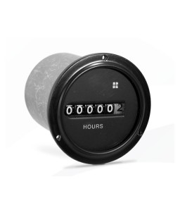 720 Series Synchronous AC Hour Meter, Round