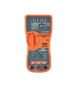 885 PR Phase Rotation Tester with Voltmeter