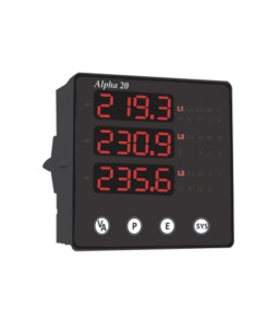 Alpha 20 DIN Digital Multifunction Three Phase Network Monitor