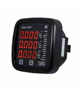 Alpha 30A+ ANSI MFM with Fixed Annunciators