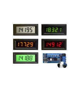 HVPI-4E Voltage Powered LCD Digital Panel Meter