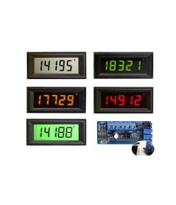 HVPI-4E Voltage Powered LCD Digital Panel Meter