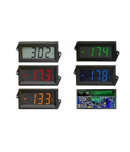 HVPI-24 AC/DC Voltage Powered LCD Digital Panel Meter