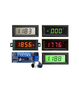 HVPI-3E Voltage Powered LCD Digital Panel Meter