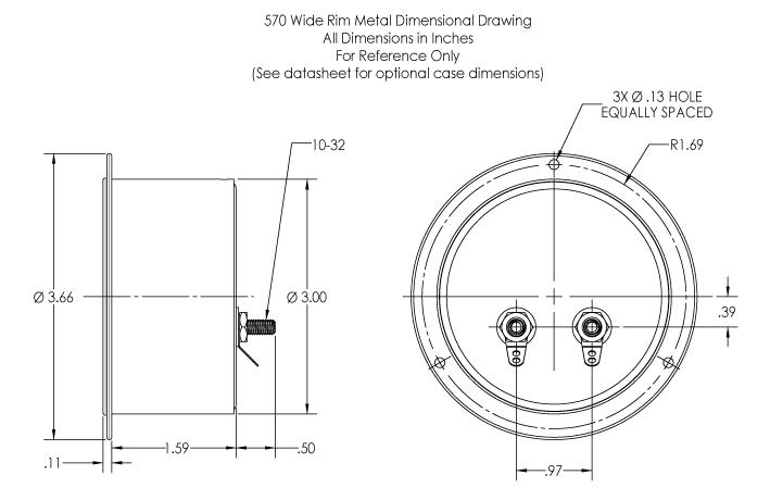 570 Dimensional Drawing
