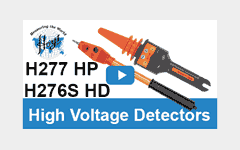 Hoyt H277 HP and H276S HD High Voltage Detectors