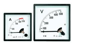 HST-72 AC / DC Analog Panel Meter