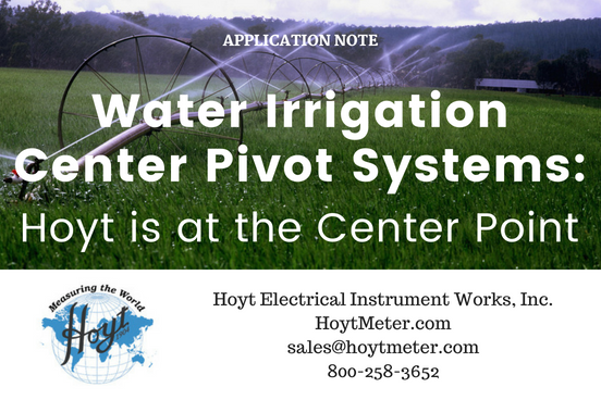 Water Irrigation Center Point Systems