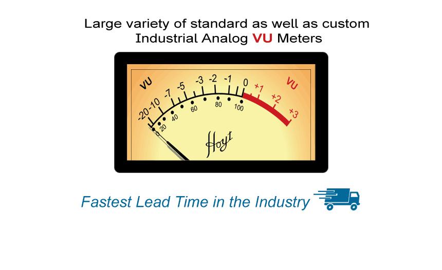 Analog VU Meters