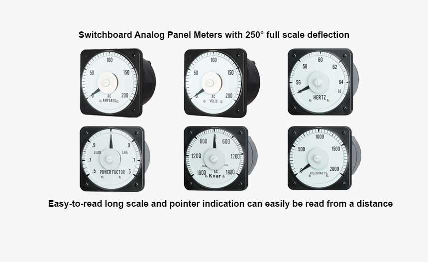 Switchboard Analog Panel Meter