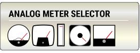 Analog Meter Selector